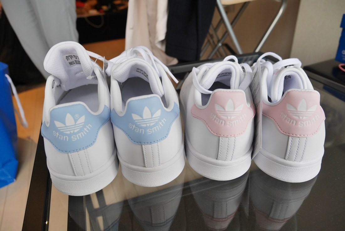 stansmith,addidas,pink,blue""